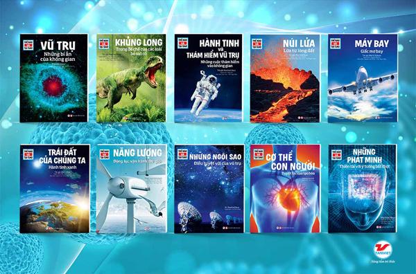 Ra mắt bộ sách khoa học dành cho trẻ em