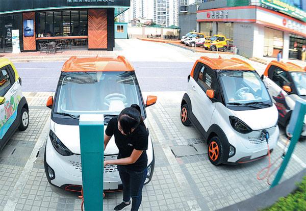 Trung Quốc dự định nhân đôi mục tiêu xe năng lượng sạch