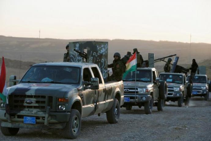 1 Lực lượng chính phủ Iraq vây hãm TP.Mosul