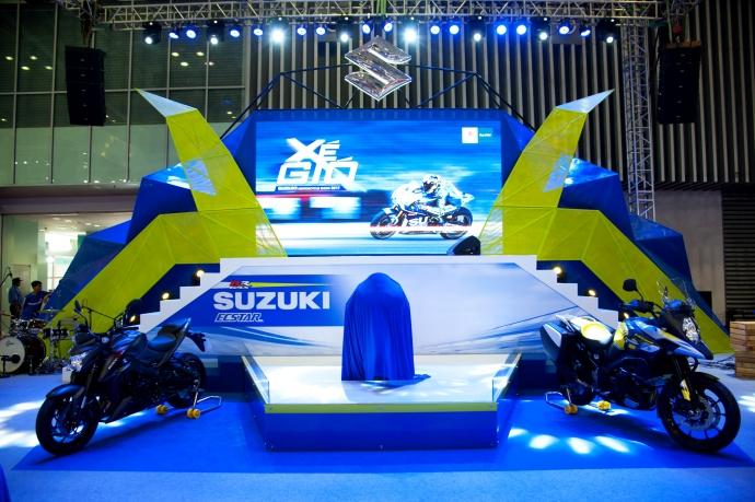 4. Suzuki Việt Nam mang đến cho khách tham quan ti