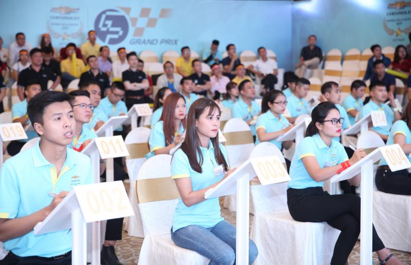 GM Vietnam - Cuộc thi Kỹ năng bán hàng và Tay nghề