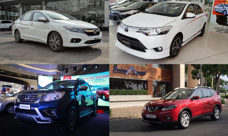 Thị trường sụt giảm nhưng vẫn có nhiều hãng xe tăng trưởng ấn tượng