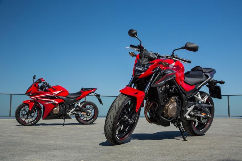 Honda nâng cấp CB 500F và CBR 500R cho thị trường Malaysia