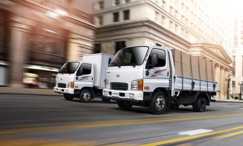 New Mighty N250 mẫu xe tải mới của Hyundai có giá 480 triệu đồng