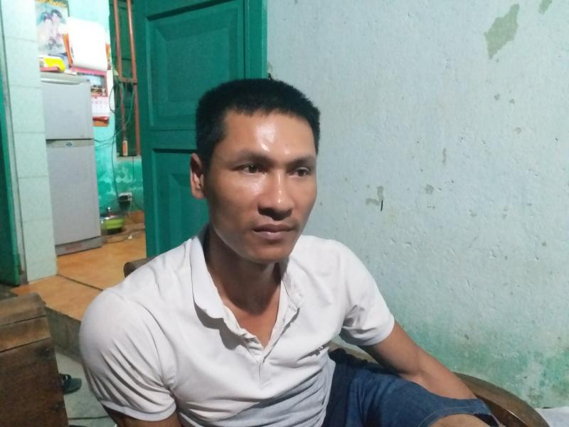 Anh Đỗ Văn Tiến - tài xế xe tải đánh lái cứu mạng