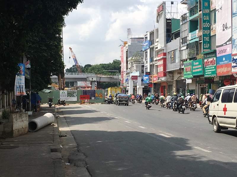 Vướng mặt bằng, cầu vượt Nguyễn Kiệm - Nguyễn Thái Sơn khó thi công