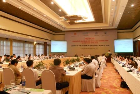 Hội nghị công bố Báo cáo kết quả khảo sát về tai nạn thương tích tại Việt Nam năm 2010.