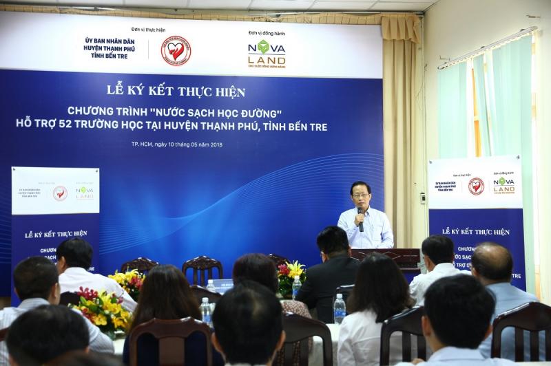 Ông Nguyễn Trúc Sơn - Bí thư Huyện uỷ huyện Thạnh
