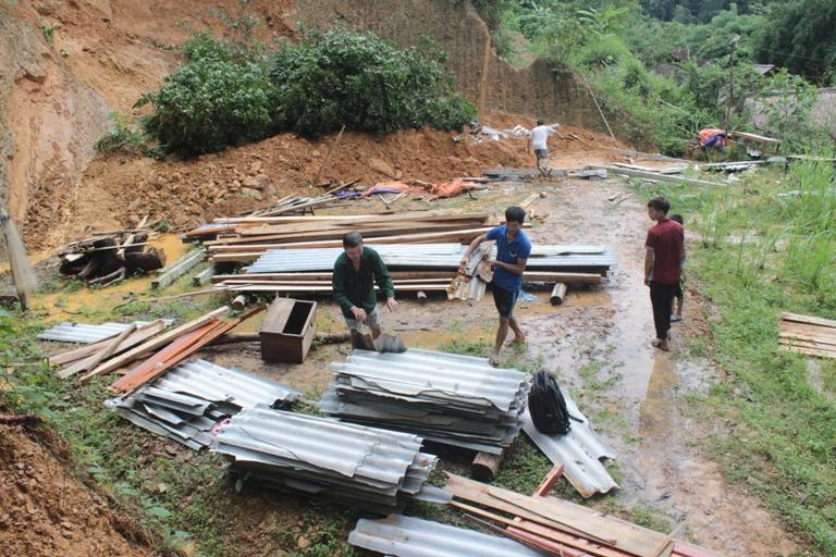 Lở đất ở Hà Tĩnh: