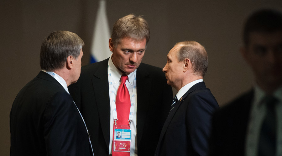 Dmitry Peskov and putin 4