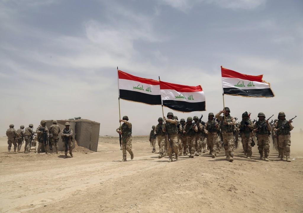 Quân đội Iraq ở thành phố Mosul