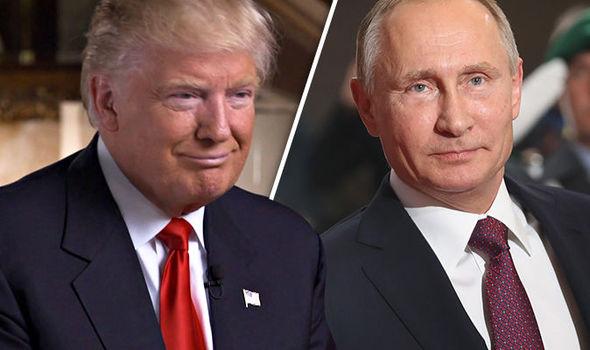 Hai tổng thống Nga và Mỹ