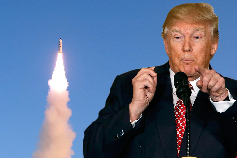 2017.8.12 Tổng thống Mỹ Donald Trump