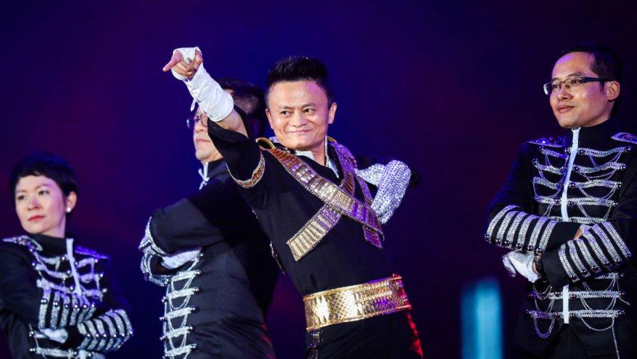 Jack Ma hóa thân thành Michael Jackson