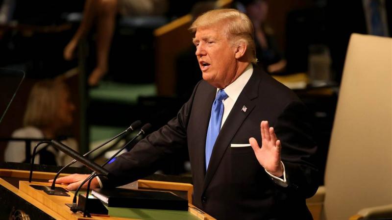 Tổng thống Mỹ Donald Trump phát biểu tại LHQ