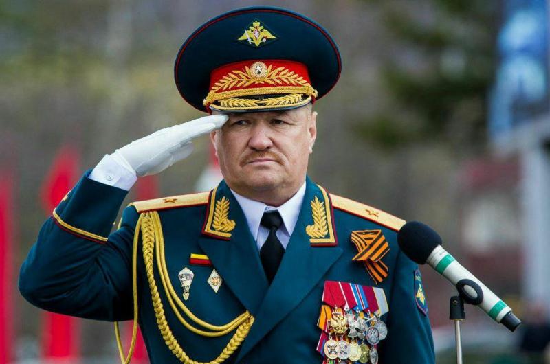 Vùng Primorye đau buồn trước tin Tướng Asapov hy sinh ở Syria