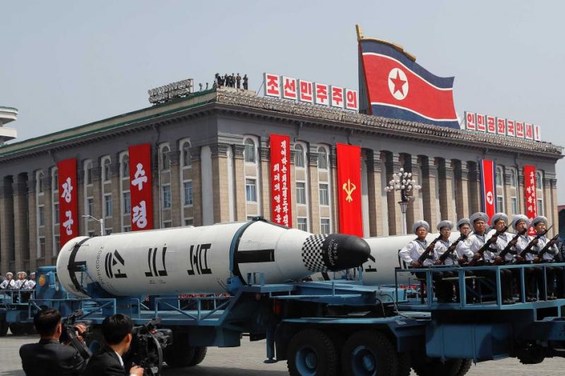 Tên lửa đạn đạo phóng từ tàu ngầm của Triều Tiên