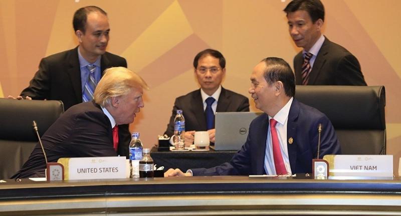 Tổng thống Mỹ và Chủ tịch nước Việt Nam