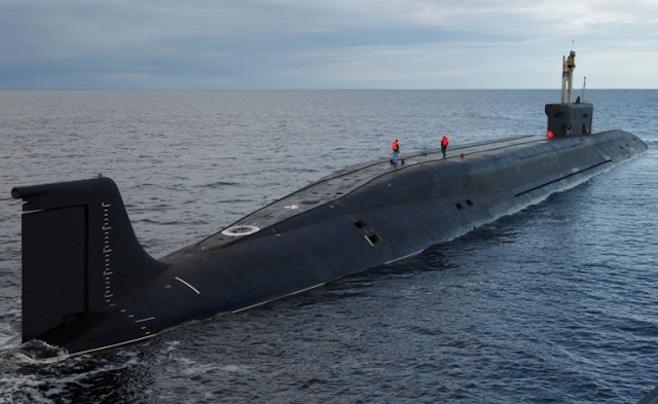 Tàu ngầm của Hải quân Nga