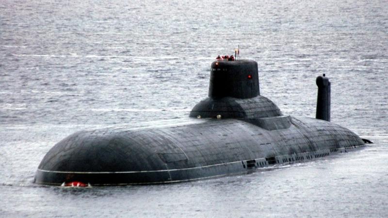 Tàu ngầm nguyên tử Nga