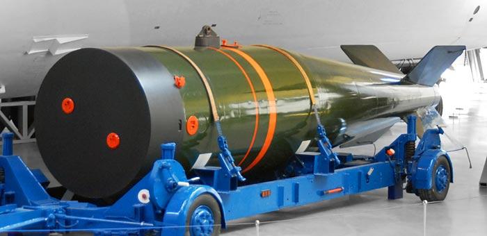 Bom nguyên tử của Mỹ