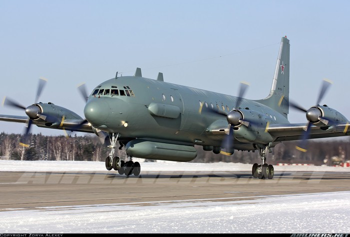 Il-20 còn được biết tới với cái tên Il-18D-36 Bizo
