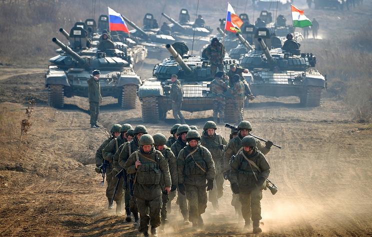 Quân đội Nga - Ấn Độ