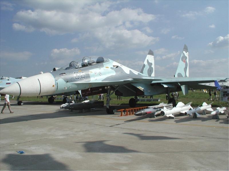 Russian Su-30 4