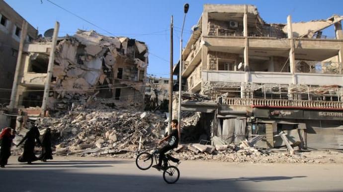Thành phố Aleppo của Syria luôn là điểm nóng của c
