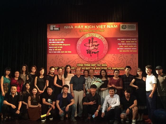 Đại kỳ thư Trung Quốc Hồng Lâu Mộng lên sân khấu kịch Việt Nam