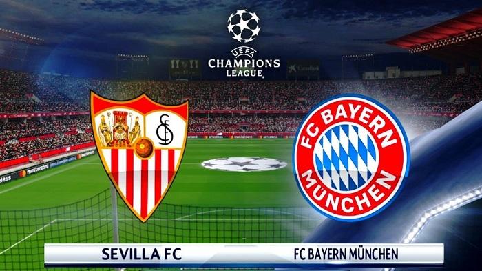 Kết quả hình ảnh cho Sevilla vs Bayern Munich