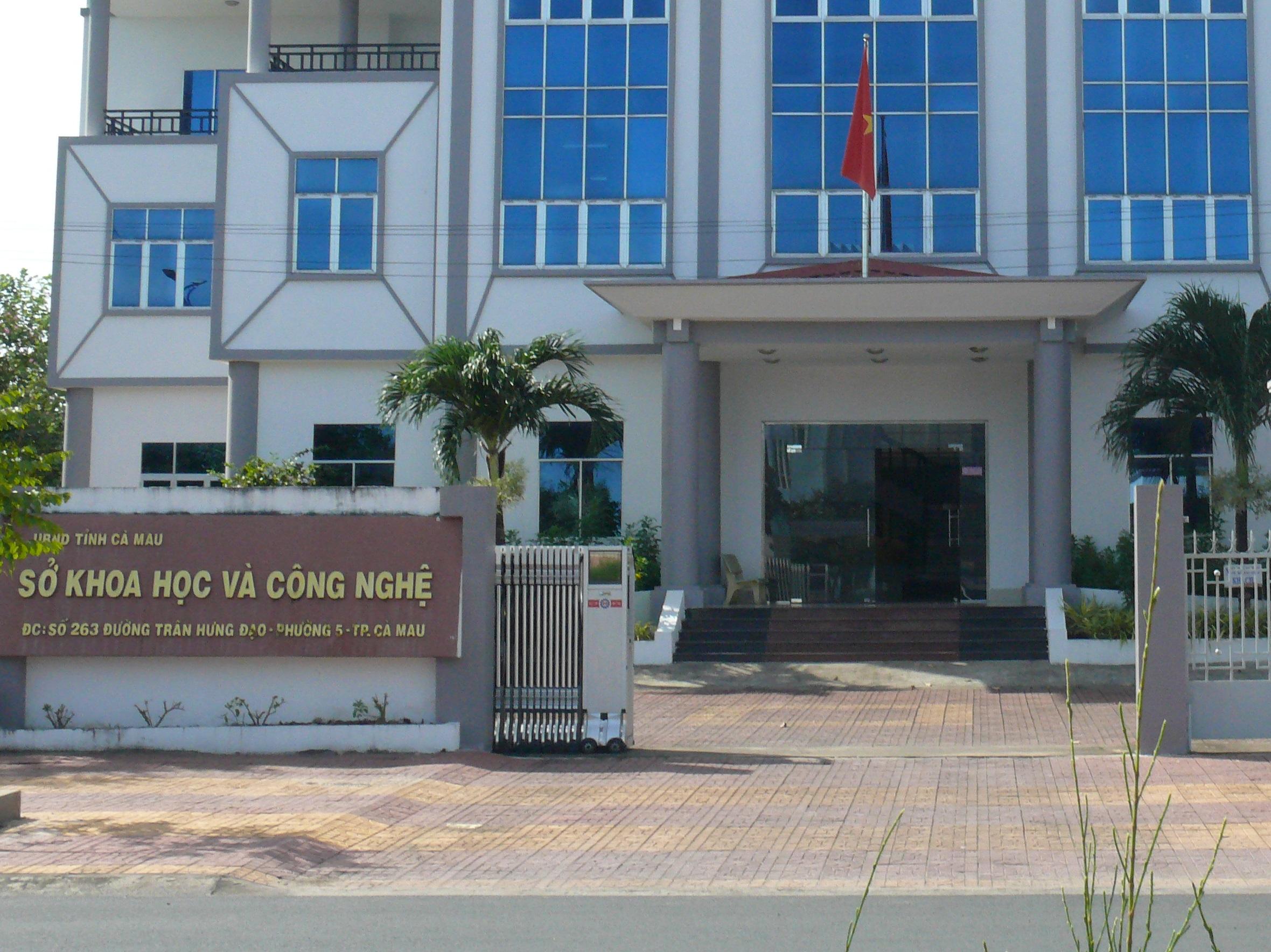 Giám đốc Sở KH&CN tỉnh Cà Mau bị đề nghị kiểm điểm