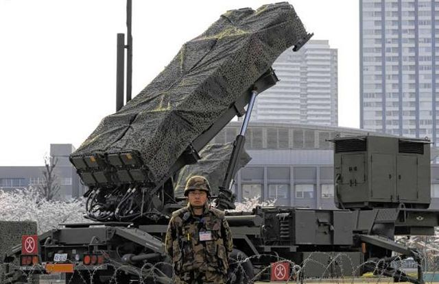 Patriot_PAC-3_air_defence_missile_system_Japan_Jap