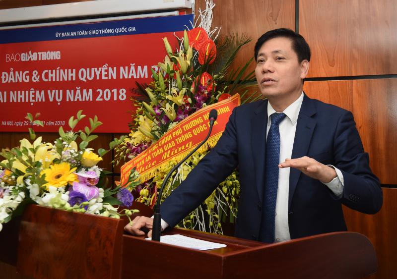 Thứ trưởng Nguyễn Ngọc Đông giao nhiệm vụ cho Ban