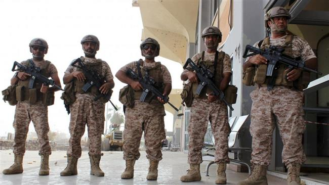 Binh lính thuộc quân đội UAE