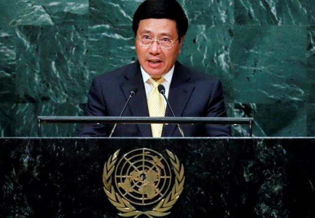 Bộ trưởng Ngoại giao Phạm Bình Minh