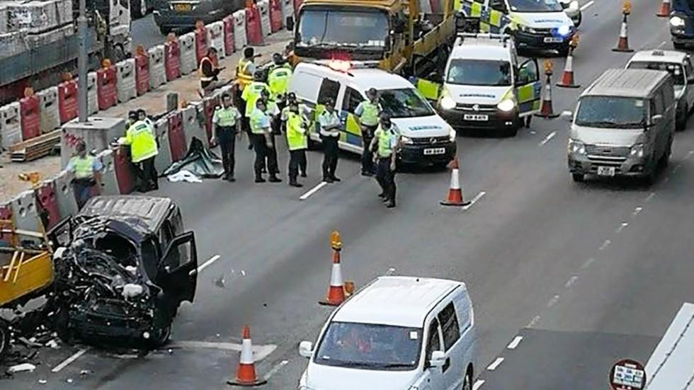 Hiện trường vụ tai nạn khiến 2 người t
