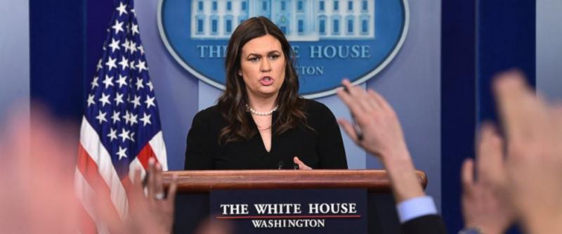 Thư ký báo chí Nhà Trắng Sarah Sanders