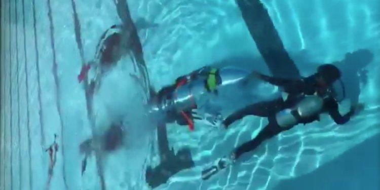 Cận cảnh tàu ngầm cỡ trẻ em
