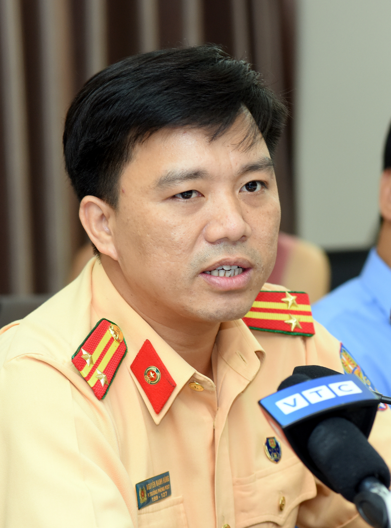 Trung tá Nguyễn Mạnh Hùng - Phó trưởng Phòng CSGT