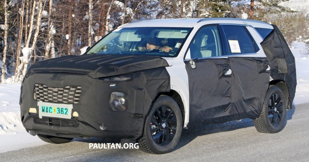 Hyundai-full-size-SUV-spyshots-4-630x330
