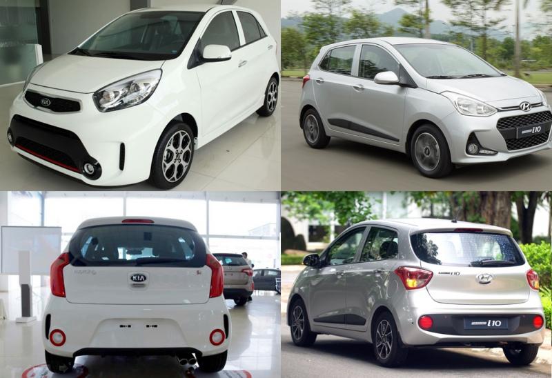Kia Morning và Hyundai Grand i10