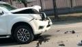 Video: Cú tông kinh hoàng của xe bán tải lấn làn gây tai nạn