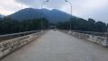 Nước lũ làm dịch chuyển cầu dài hơn 200m trên sông Mã