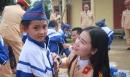 CSGT Nghệ An mang tết ấm cho học sinh nghèo