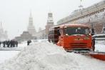 Dịch vụ bới xe trong tuyết hút khách tại Moscow
