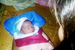 Nghệ An: Bé sơ sinh bị bỏ rơi trong cơn bão số 10