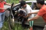 Thực nghiệm điều tra vụ giết tài xế taxi bỏ thi thể ven đường