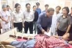 UBATGT Quốc gia, Bộ GTVT thăm hỏi nạn nhân vụ xe khách lao vực