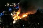 Chưa rõ nguyên nhân vụ cháy nhà kho ở quận 4, TP.HCM
